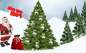 Picture Snow, Zima, Nicholas, Christmas