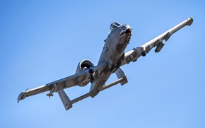 Picture attack, A-10, UNITED STATES AIR FORCE, Thunderbolt II, Fairchild Republic, Warthog, American single twin-engine