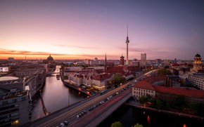 Picture the city, Sunset, Berlin
