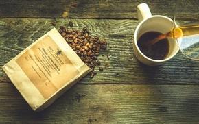 Wallpaper coffee, grain, drink