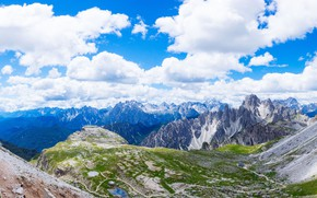 Picture the sky, mountains, panorama