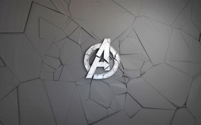 Wallpaper fragments, background, graphics, logo, Logo, comic, MARVEL, The Avengers, The Avengers, Avengers
