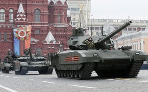 Picture holiday, Stroy, tanks, May 9, red square