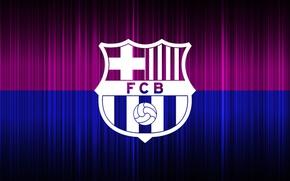 Picture wallpaper, sport, logo, football, FC Barcelona