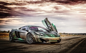Wallpaper supercar, Vorsteiner, MP4, McLaren, McLaren