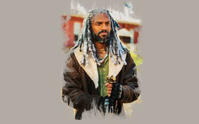 Picture art, The Walking Dead, Ezekiel, Khary Payton