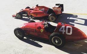 Picture Ferrari, Ferrari, Retro
