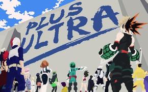 Picture anime, hero, manga, yuusha, seifuku, super hero, japonese, Boku no Hero Academy, My Hero Academia, …