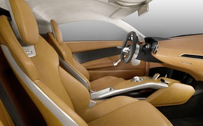 Picture Audi, the wheel, seat, salon, e-tron