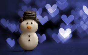 Picture holiday, toy, snowman