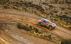 Picture Sand, Sport, Speed, Turn, Race, Peugeot, Lights, Red Bull, 300, Rally, Dakar, Dakar, Rally, Sport, …