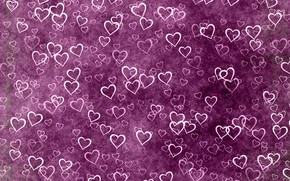 Picture background, texture, hearts