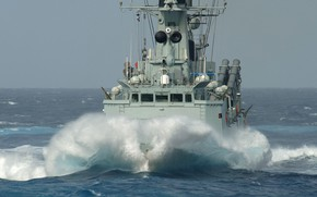 Picture storm, frigate, hdms peter tordenskjold