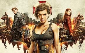 Picture Resident Evil, Milla Jovovich, Alice, Resident Evil: The Final Chapter, Resident evil: the final Chapter