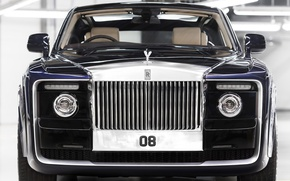 Picture lights, Rolls-Royce, grille, Sweptail