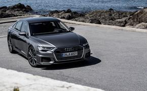 Picture sedan, Quattro, 2018, S-Line, Audi A6, 50 TDI