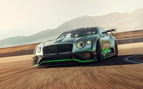 Picture Bentley, Continental, racing car, GT3, 2018