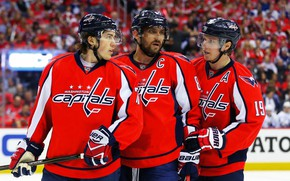 Picture The game, Sport, Ice, Washington, Ice, Washington, Alexander Ovechkin, NHL, NHL, Washington Capitals, Ovechkin, Goal, …