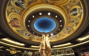 Picture Las Vegas, USA, sculpture, the hotel, casino, Caesars Palace