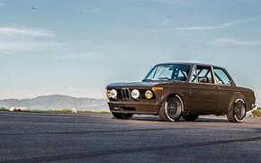 Picture Auto, Retro, BMW, Machine, Boomer, Asphalt, BMW, 2002, Coupe, Old, Maryland, BMW New class, BMW …