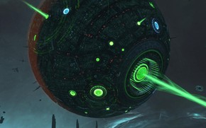Wallpaper ball, Star Conflict, Aliens Area