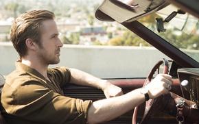 Picture movement, car, Ryan Gosling, Ryan Gosling, the musical, La-La Land, The The Land