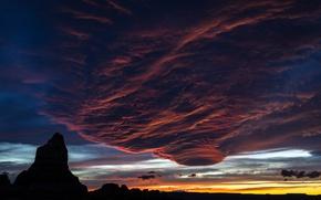 Picture the sky, clouds, tornado, Crimson Turbulence
