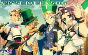 Picture anime, art, characters, Azure Striker Gunvolt