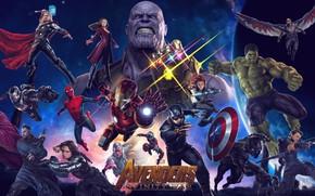 Picture captain america, thor, hulk, spider man, iron man, hawkeye, avengers, black widow, war machine, ant …