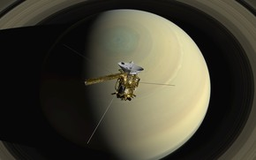 Picture space, planet, Saturn, Cassini
