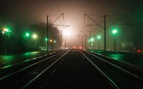 Wallpaper lights, night, beautiful, the evening, lights, blur, excerpt, the city, light traces, home, strip light, ...