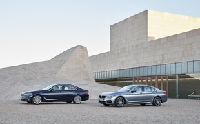 Picture the sky, grey, the building, BMW, architecture, xDrive, 540i, 530d, Luxury Line, 5, M Sport, …