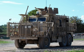 Picture army, armored vehicle, Combat