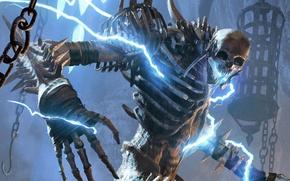 Picture sake, game, armor, The Elder Scrolls, bones, Elder Scrolls, The Elder Scrolls: Legends, Bone Colossus