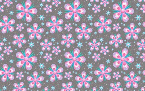 Wallpaper flowers, background, pink, texture, floral, pattern, seamless, seamless background