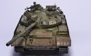 Picture toy, tank, model, T55