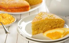 Picture orange, pie, cakes