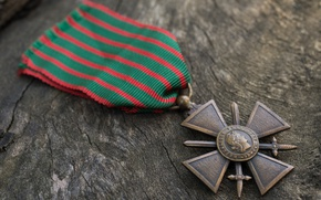 Picture Medal, Cross of war, 1914–1918, WW1 France