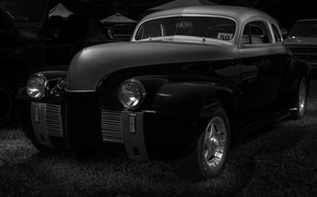 Picture Oldsmobile, 1940, Custom Coupe
