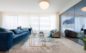 Picture room, interior, living room, Blue Ocean Home