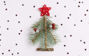 Picture decoration, tree, New Year, Christmas, happy, Christmas, wood, tree, New Year, Merry Christmas, Xmas, decoration