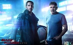Wallpaper fiction, Harrison Ford, Harrison Ford, Ryan Gosling, Ryan Gosling, Blade runner 2049, Blade Runner 2049