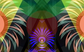 Picture fantasy, abstract, saver