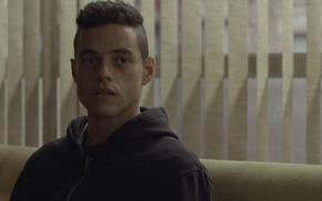 Picture Rami Malek, Elliot Alderson, Mr Robot