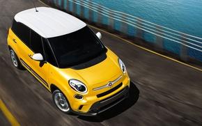 Picture road, Fiat, 500l, Fiat 500L