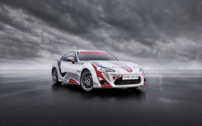 Picture Road, Wheel, Clouds, Lights, Toyota, Car, Drives, Sports, GT86, CS-V3