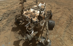 Wallpaper NASA, Mars science laboratory, Curiosity, Mars, the Rover