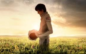 Picture cinema, sky, cloud, man, boy, movie, american flag, flag, film, pearls, vegetation, Asa Butterfield, Elliot, …