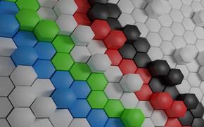Wallpaper Surface, Hexagon Wallpaper, Shaped Background