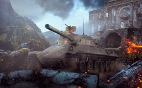 Picture world of tanks, wot, worldoftanks, wotart, anderarts, TVP